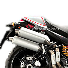 Ducati Monster - Tabelle portanumero posteriori a rigo - racing decals