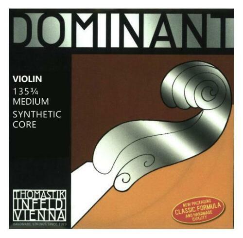 Thomastik Dominant 135 3//4 Saitensatz Violine Saiten Geige Kunststoff Aluminium