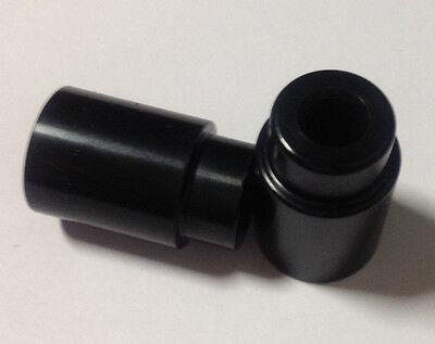 Eyelet Bushings Black Anodized 27.94mm width x 6mm ID Fits Fox 803-03-002
