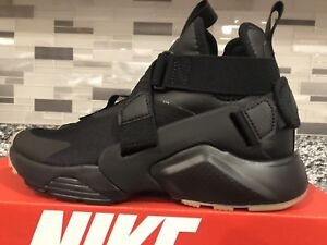 quality design 9c668 9f0bb Image is loading Nike-Air-Huarache-City-Black-Dark-Grey-AH6787-