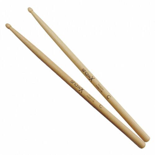 Shaw C Drumsticks Wood Tip x 2 Pairs
