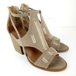Maurices-Sandals-Women-Size-9-Open-Toes-3-75-034-High-Heels