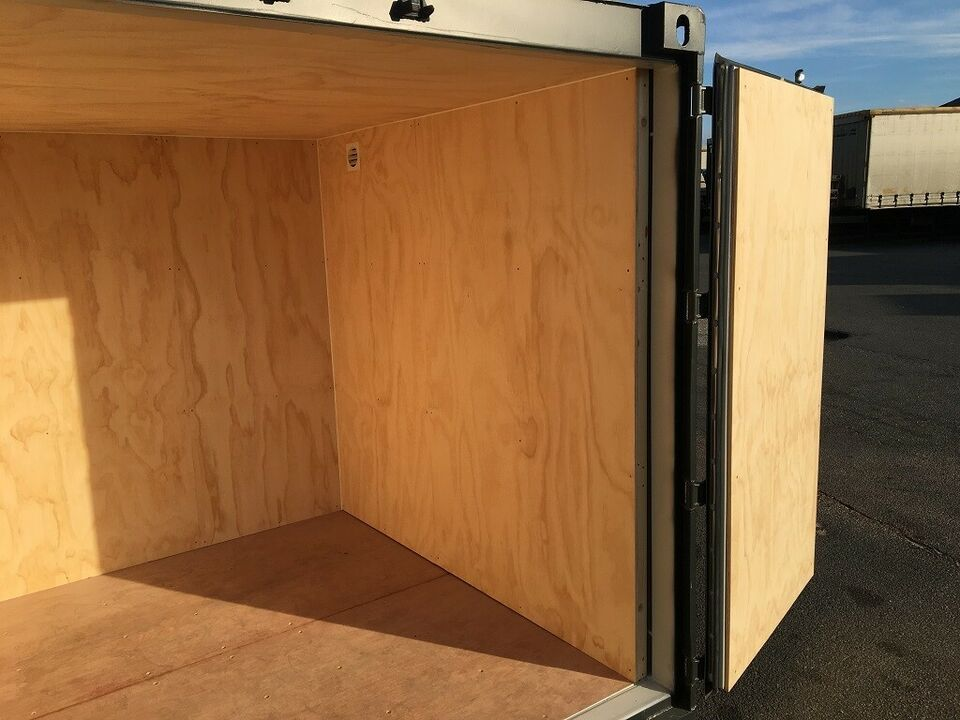 HELT NY Isoleret 8' container 8 fods