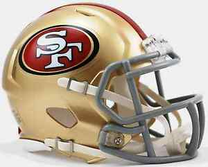 Image Is Loading SAN FRANCISCO 49ers NFL Football Helmet BIRTHDAY WEDDING