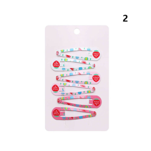 Multicolor Baby Girls Metal Barrettes BB Hair Clips Cute Hairpins Hairgrips