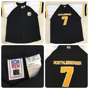 68068bead18 Ben Roethlisberger 7 Youth L 14-16 Pittsburgh Steelers NFL Players ...