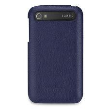 TETDED Premium Leather Case for BlackBerry Classic Q20 -- Cean (LC: Navy Blue)