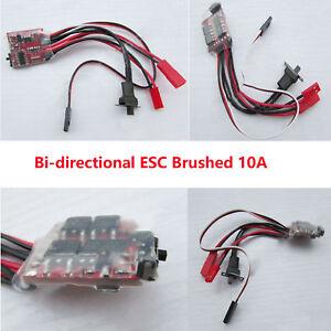 Bi-directional-ESC-Brushed-10A-fuer-WPL-B-1-B14-B-14-B-24-B24-C14-Military-Truck