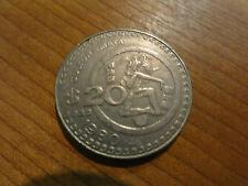506C)  One (1) $20 Coin 1980 Estados Unidos Mexicanos Cultura Maya