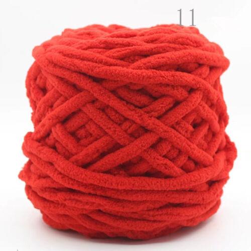 NEW 100G skeins yarn Chunky Crochet chenille Milk Soft Baby velvet Knitting Wool