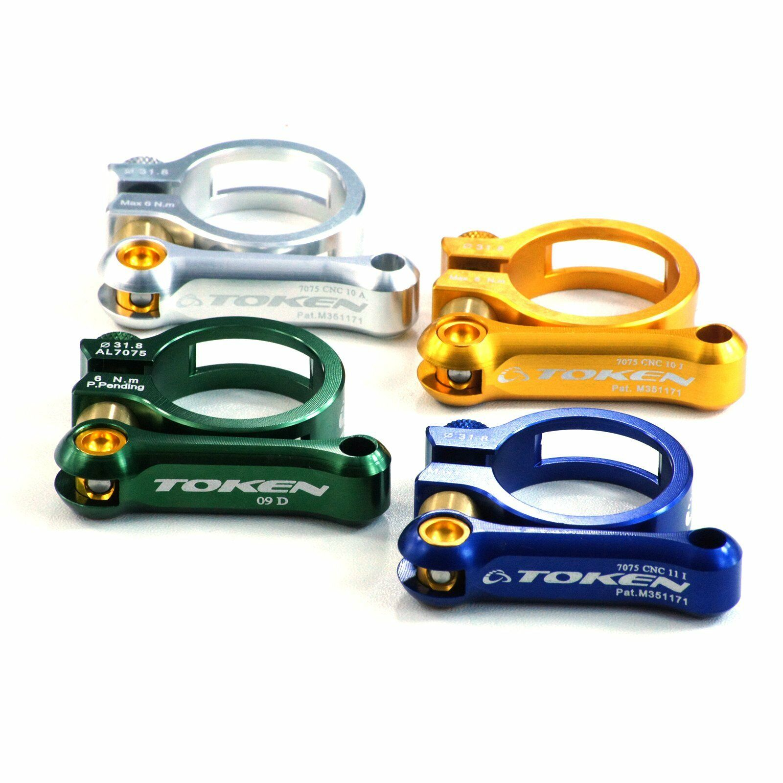 TOKEN Front Derailleur Clamp 28.6 mm 34.9 mm ~Lightweight 31.8 mm
