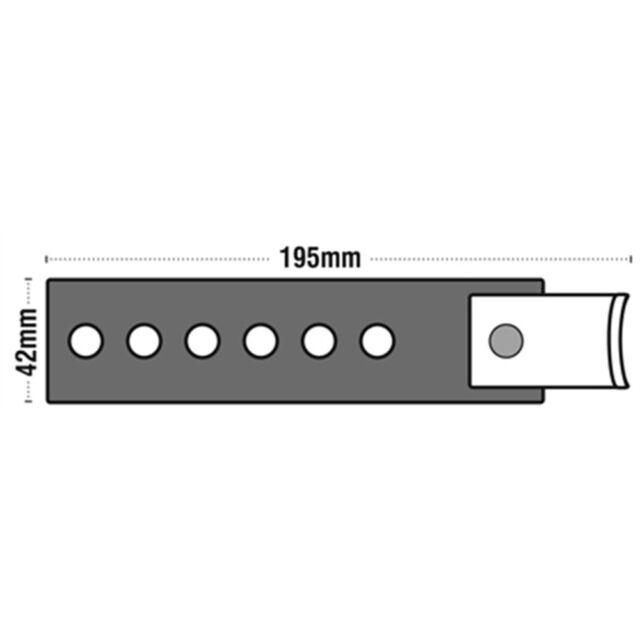 165mm Rubber /& Steel Car Exhaust Mount Hanger Bracket Hook Universal Adjustable