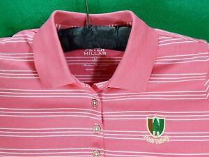 PINE VALLEY logo Peter Millar women's golf shirt M medium ...