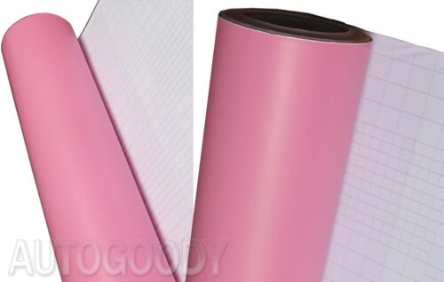"36/"" x 60/"" Matte Light Pink Vinyl Film Wrap Sticker Decal Bubble Free Air Release"
