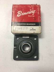 BROWNING-VF4S-216-FLANGE-MOUNT-BALL-BEARING-UNIT-NEW-AND-FREE-SHIPPING