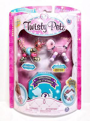Twisty Petz Marigold Unicorn Pupsicle Puppy Surprise Bracelet Set 3-Pack