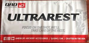 Quality Archery Designs Moderate Price Accessories Gentle New Qad Ultrarest Banner Sporting Goods