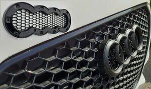 Audi emblem badge rings holder for honeycomb grills models A1 A3 A4 A5 A6 A7 A8.