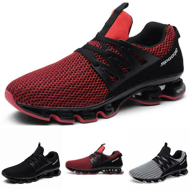 Casuals shoes Men Sneaker Trail Sport Mesh Athletic Mid Top Running Walking New