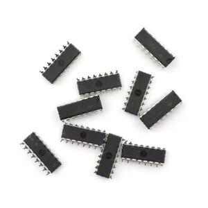 10X 74HC595 74HC595N SN74HC595N Integrated Circuit IC DIP-1NWsh