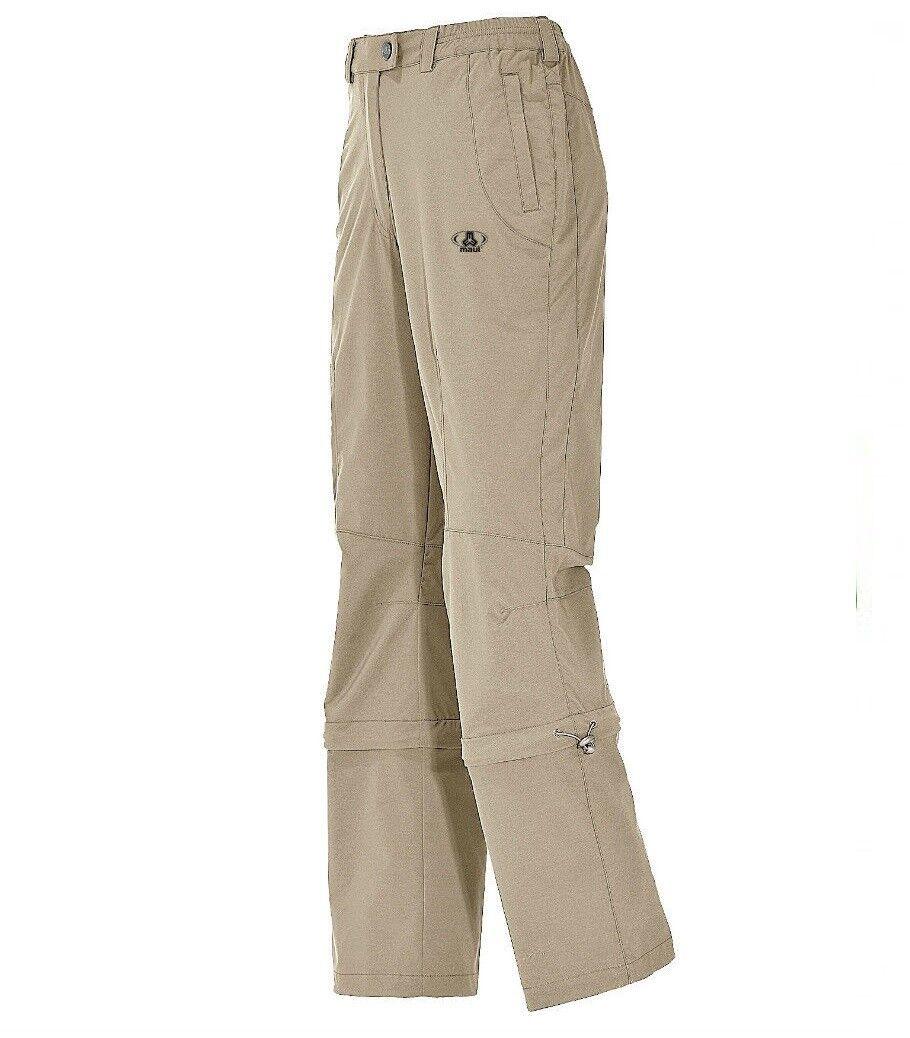 Boca Trail señora senderismo trekking pantalones pantalones pantalones zipbar Lang-u. brevemente tamaño ligeramente elástica fafd20