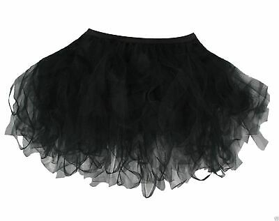 "Black 16"" Dark Fairy/witch/tutu Halloween Fancy Dress SorgfäLtige FäRbeprozesse"