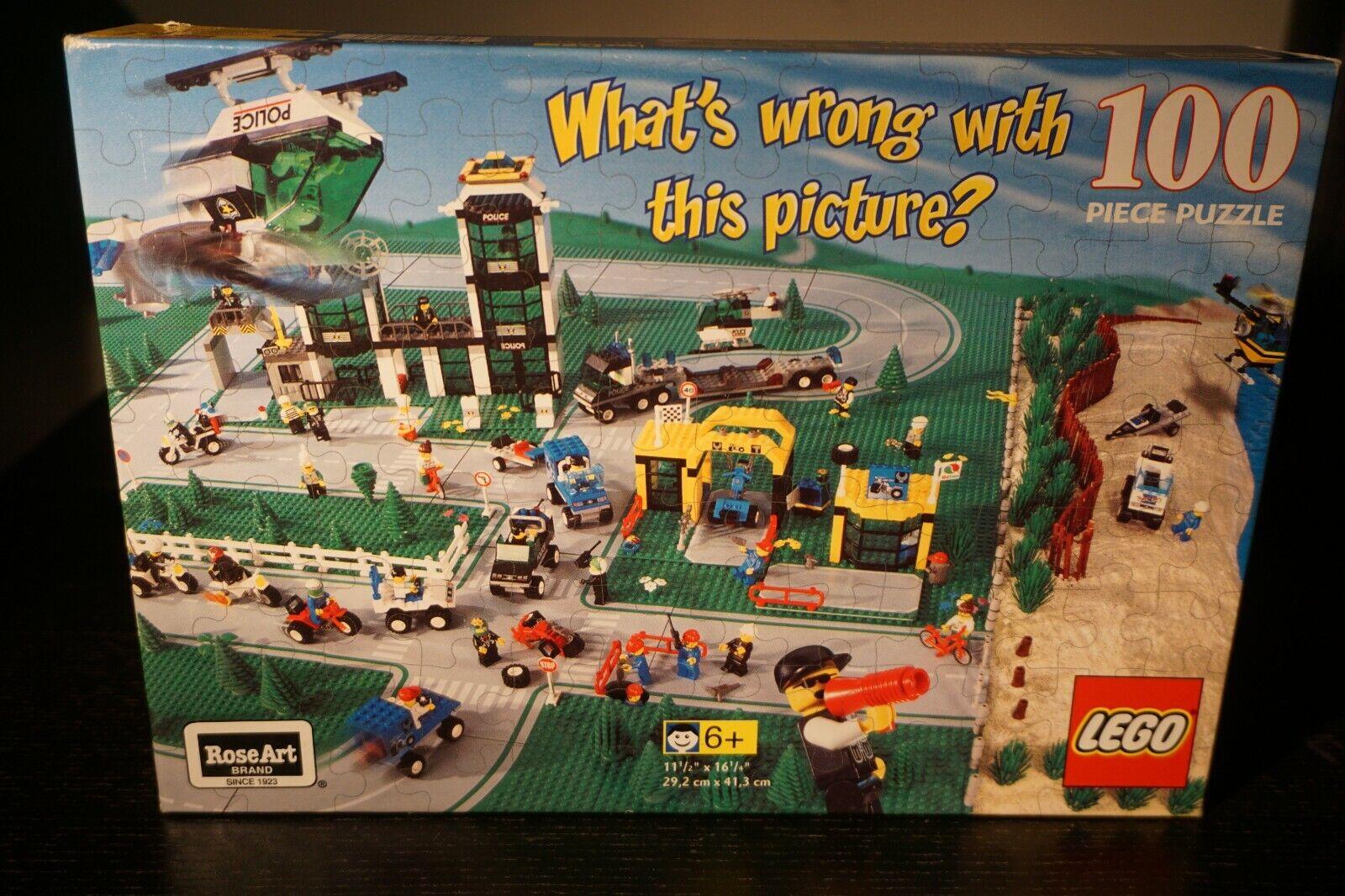 Vintage Lego quel est le problème avec  cette photo 100 Piece Jigsaw Puzzle RARE nouveau  40% de réduction