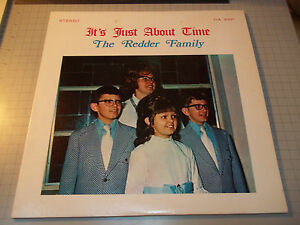 It-039-s-Just-About-Time-The-Redder-Family-Stereo-Christian-Xian-Gospel-LP