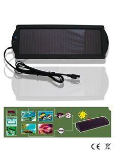 Pannello Solare Mantenimento Di Carica 12V Auto Moto Barca Camper Energia Solare