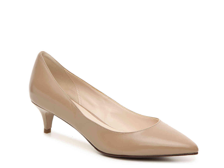5, 5.5 COLE HAAN JULIANA PUMP 45 LOW MAPLE SUGAR WOMEN'S KITTEN LOW 45 HEEL Schuhe 20d442