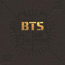 BTS - [2 COOL 4 SKOOL] 1st Single Album CD+Booklet+PostCard+Gift K-POP Sealed