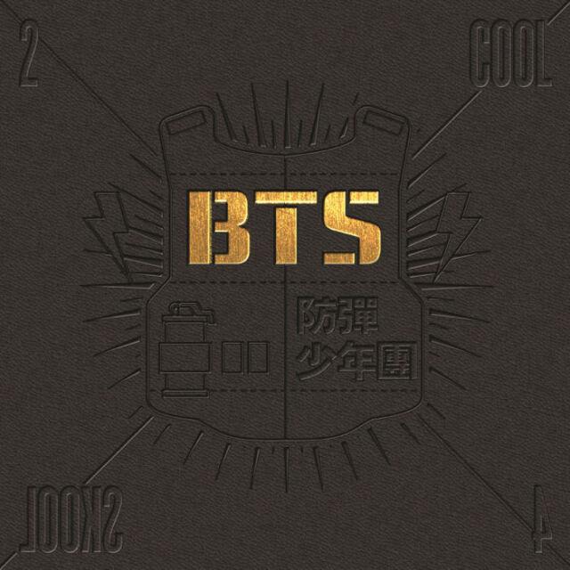 BTS - [2 COOL 4 SKOOL] 1st Single Album CD+Booklet+Store Gift K-POP Sealed