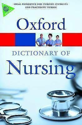 A Dictionary of Nursing by Oxford University Press (Paperback, 2008)