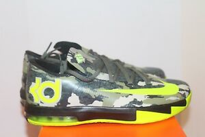 check out 1760d 8cf80 Image is loading Nike-KD-VI-GS-Grade-School-Size-7Y-