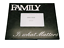 Photo-Frame-Family-Retro-034-Family-is-What-Matters-034-Black-amp-White-4x6-034-SG1408 thumbnail 1