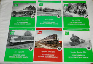 Southern-Railway-TIES-Magazines-Issues-Complete-Year-2006
