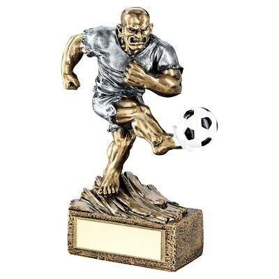 Antique Gold Pinnacle Football Player Trophy Award 6 sizes FREE ENGRAVING /& P/&P