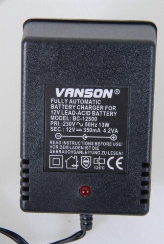 #43-45-021-24 Vanson Batterieladegerät BC-12500