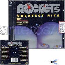 "ROCKETS ""GREATEST HITS"" RARE 2 CD '96 ORIGINAL VERSION"