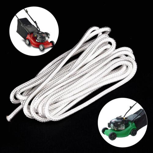 4mm für Rasenmäher Kettensäge Starter ziehen Cord Seil Nylon Schnur Seil 3m