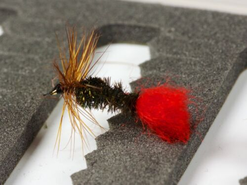 RED TAG Dry Trout Fishing Flies various options by Dragonflies
