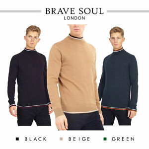 Brave-Soul-Mens-Turtle-Neck-Jumper-Contrast-Tipped-Hallis