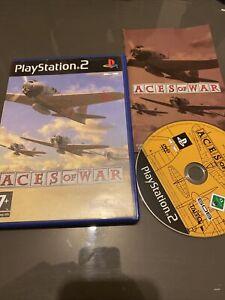 😍 jeu playsation 2 ps2 ps3 complet très bon état aces of war guerre avion pilot