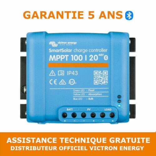 Victron SmartSolar MPPT 100//20/_48V Contrôleur de Charge Solaire SCC110020160R