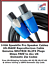 US-MADE-Speaker-Cables-Pro-Grade-amp-DJ-14GA-Made-with-NEUTRIK-speakon-NL2FX Indexbild 2