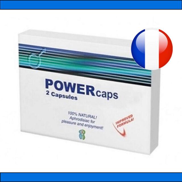 PowerCaps ® 2 gélules stimulant sexuel aphrodisiaque VIAMAX POWERTABS POWER TABS