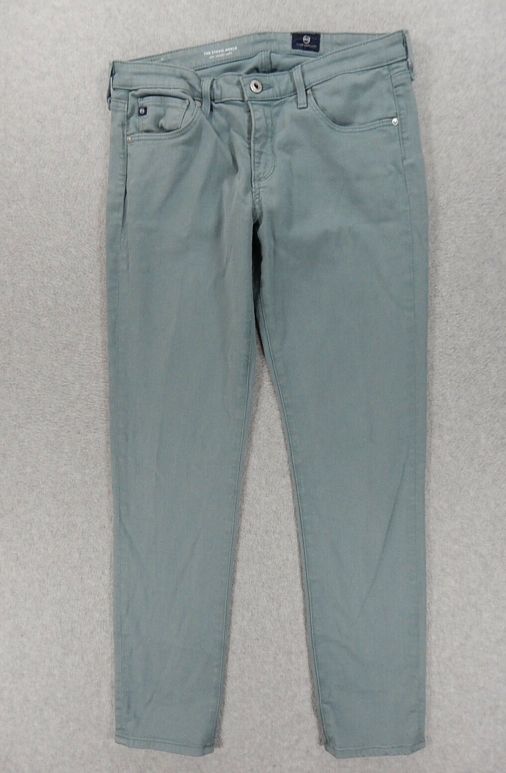 Adriano goldschmied THE STEVIE ANKLE Straight Leg Jeans (Womens 29R)