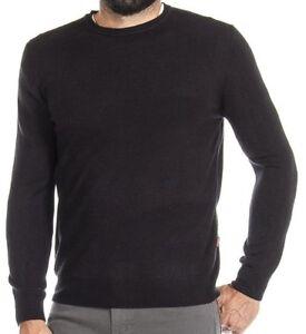 Maglione Carrera Pullover Jeans Nero Girocollo Uomo Maglia Maglioncino dnz4qwFpd