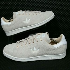 Großhandel Details about *NEW* Adidas Stan Smith Plush Suede (Men's Size 8) Casual Sneakers Tan White  Schlussverkauf
