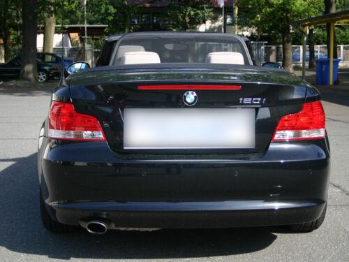 BMW 1 serie E88 deflector de viento 2008-2014 Negro Malla